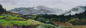 About Kristen O'Neill Landscape Paintings Reconnect You to Nature