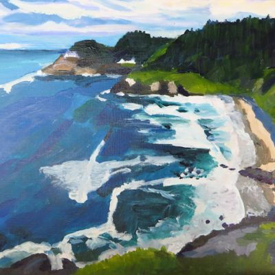 Around the bend from Heceta Head Kristen ONeill