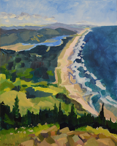 Neah-Kah-Nie Oregon Coast Painting