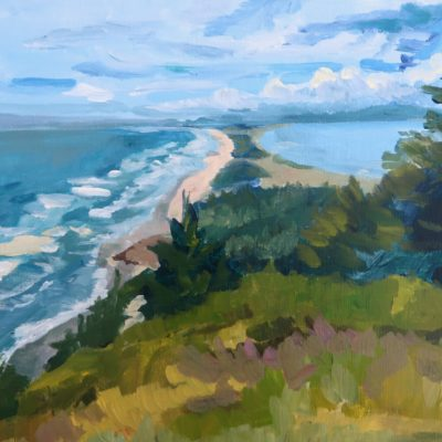 Cape Meares: Looking Toward Bayocean by Kristen O'Neill