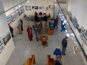 Gallery Opening Kristen O'Neill art