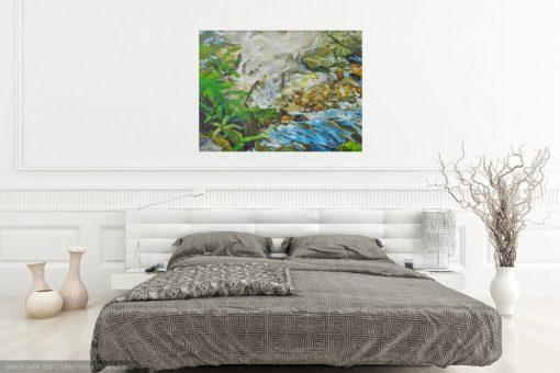 Fall Creek Light Landscape Painting