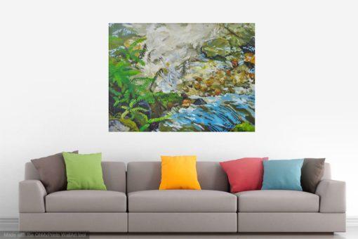 Kristen O'Neill landscape painting creek