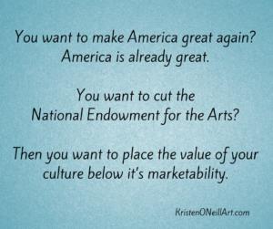 Make America Great NEA