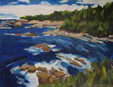 Broiler Bay Painting